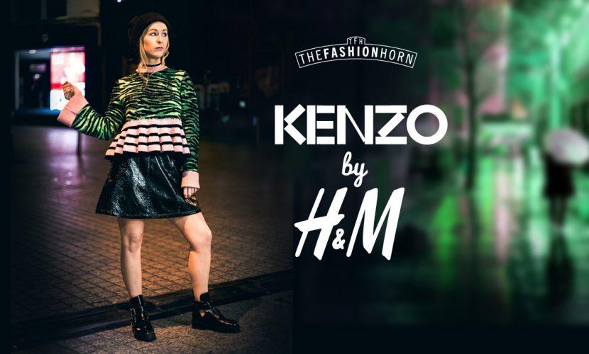 how I styled Kenzo x H&M